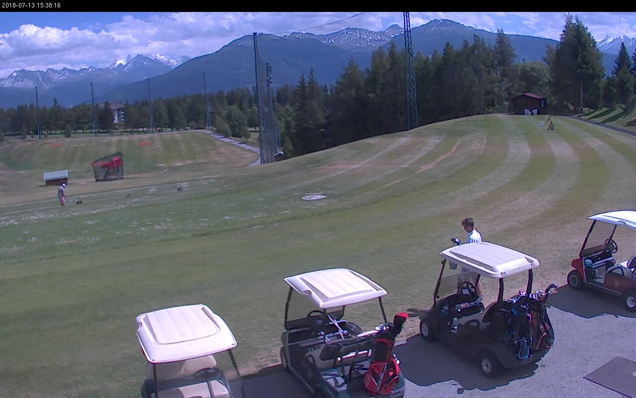 Webcam <br><span> crans montana golf</span>